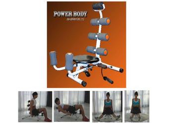 banco abdominales power body con sport