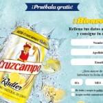 Cerveza Cruzcampo gratis