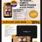 Consigue Smartphone gratis y Tablet con la nueva España Nevir