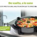 Promoción El Correo – Grill multifunción princess