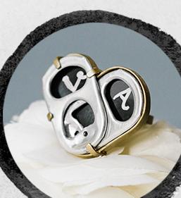 anillo romeo & julieta limon & nada