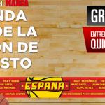 bufanda seleccion española baloncesto gratis diario marca