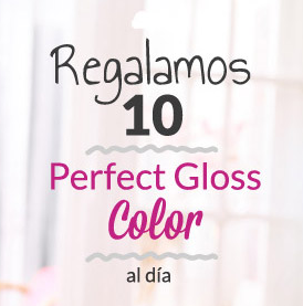 pedir muestras gratis tinte perfect gloss