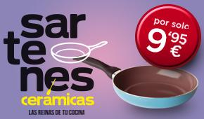 Consigue las sartenes de cerámica con el periódico Las Provincias