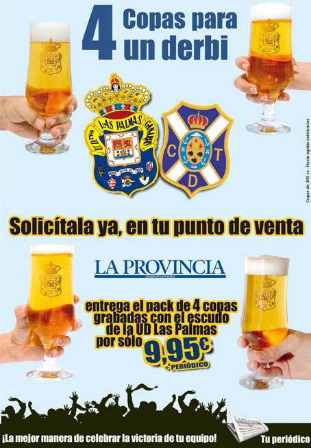 Promoción copas de Las Palmas y Tenerife