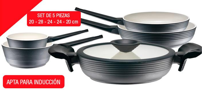 Promoción de marca de Lava Batería de cocina