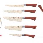 consigue un pack de cuchillos tekno chef con marca