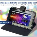 Promoción el Mundo para funda de Tablet