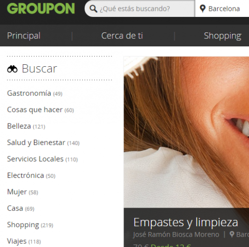groupon cupones