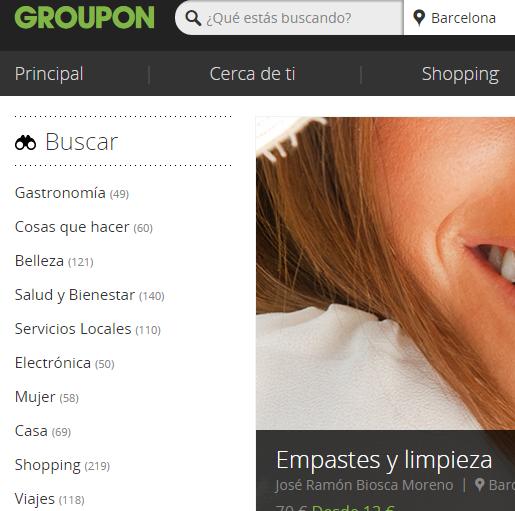 groupon cupones