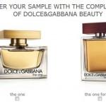Perfumes / colonias: Muestras gratis de Dolce Gabbana