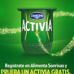 Probar Yogur Activia Danone Gratis