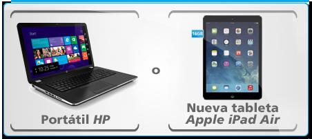 Promociones de La Caixa, consigue tu Ipad Air o portátil