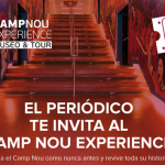 2 x 1 camp nou experience con el periódico de catalunya