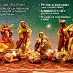 """Belén Napolitano para navidad 2014 con el periódico y la promoción de """"ABC"""""""
