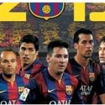 "Calendario del Barça 2015 - Diario ""Mundo Deportivo"""
