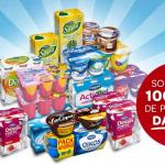 Gana lotes Danone Gratis en Carrefour