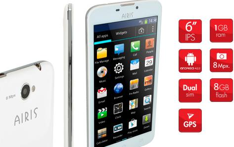 smartphone airis tm60d diario marca