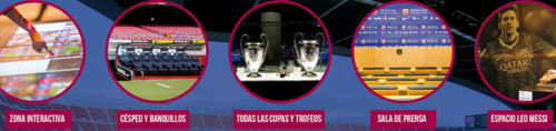 tour camp nou experience
