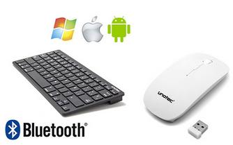 teclado y ratón inalámbrico unotec sport