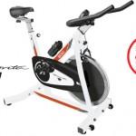 Bicicleta estática BH con marca
