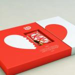 caja especial kit kat san valentin