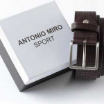 """Cinturones Antonio Miró Sport - Diario """"El Periódico"""""""