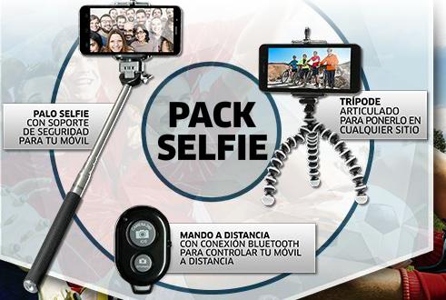 pack selfie diario marca