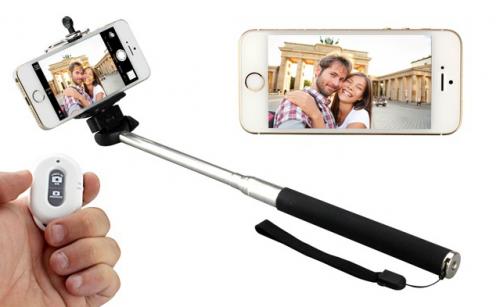 palo selfie barato con bluetooth