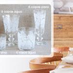 Cristalería ZARA Home : 24 Vasos - Diario El País