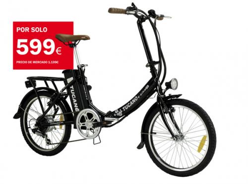 bicicleta electrica tucano