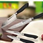 "Set de 4 cuchillos japoneses Quttin - Diario ""La Razón"""
