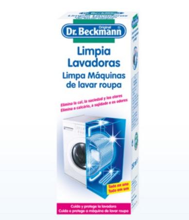 limpia lavadoras dr beckmann